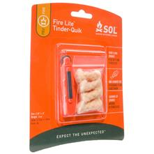 SOL Fire-Lite Fire Starter with Four Tinder-Quik