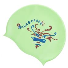 Aqua Sphere Silicone Youth Graphic Swim Cap