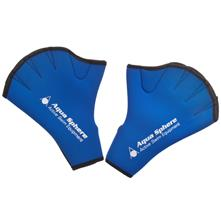 Aqua Sphere Webbed Swim Gloves with Velcro Closure
