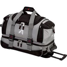"Athalon Platinum 21"" Wheeling Carry-on Ballistic Nylon Duffel #920"