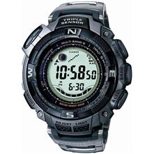Casio PAW1500T-7V Multi-Band 5 Atomic Solar Pathfinder Watch with Titanium Band