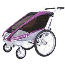 Chariot Carriers Cougar 1 Single Stroller - Chassis and Strolling Kit