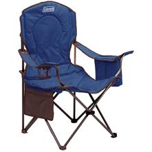 Coleman Oversize Cooler Quad Chair - Blue image