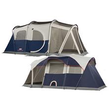 Coleman Elite WeatherMaster Screened 6, 9 x 17 Family Tent image