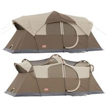 Coleman WeatherMaster 10, 17 x 9 Three-room Family Tent