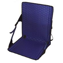 Crazy Creek Hex 2.0 LongBack Chair - Black/Royal Blue