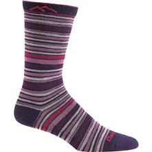 Darn Tough Stripe Crew Light Socks for Women