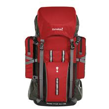 Eureka Rocky Peak 50L + 10L Pack - Red