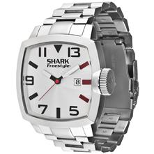 Shark by Freestyle the Jester Mens Watch, Silver with Steel Bracelet