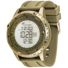Freestyle Digital Touch Compass Watch Green with Green Strap