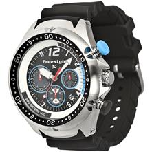 Freestyle Hammerhead Chrono XL Watch, Stainless Steel/Black