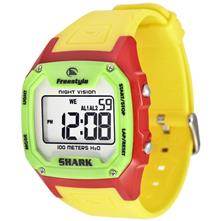 Shark By Freestyle Killer Watch, Gloss Red/Yellow/Green