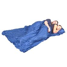 Grand Trunk Silk Sleep Sack - Double - Blue