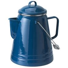 GSI Outdoors Enamelware Coffee Boiler - 36 Cup - Blue