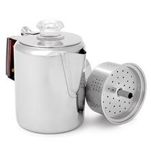 GSI Outdoors Glacier Stainless Coffee Perculator - Stove Top