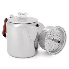 GSI Outdoors Glacier Stainless 6 Cup Coffee Perculator - Stove Top image