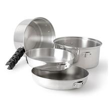 GSI Outdoors Glacier Stainless Cookset - Medium