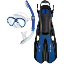 Head Marlin Purge Mask/Snorkel/Fin Set Dry Set