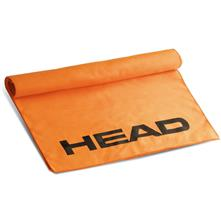 Head Microfiber Swim Towel, Orange