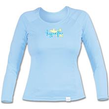 Hyperflex Child Girl Sky Long Sleeve Water-Shirt