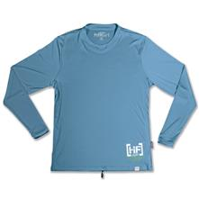 Hyperflex Child Boys Block Long Sleeve Water-Shirt Slate