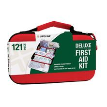 Lifeline Deluxe Hard-Shell Foam First Aid Kit - 121 Piece