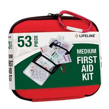 Lifeline Medium Hard-Shell Foam First Aid Kit - 53 Piece