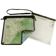 "Loksak Splashsak Map Case 12"" x 12"" (30.5 x 30.5 cm) with Adjustable Shoulder/Waist Strap"