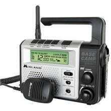 Midland XT511 GMRS Emergency Dynamo Crank Radio with AM/FM