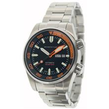 Momentum Innerspace Watch Orange with Stainless Steel Band