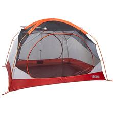 Marmot Limestone 4P Tent with Door Mat and Hanging Organizer