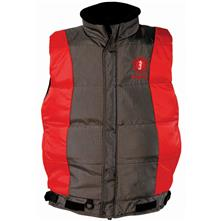 Mustang Survival Integrity Flotation Vest, Red/Carbon