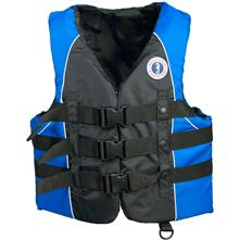 Mustang Survival Nylon Water Sports Vest, Black/Blue
