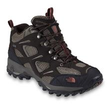 The North Face Hedgehog Gore-Tex XCR Mid Shoes for Men - Coffe Brown/Sienna Orange image