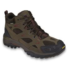 The North Face Hedgehog Gore-Tex XCR Mid Shoes for Men - Cub Brown/Rhubarb Red