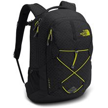 The North Face Jester Daypack (TNF Black Emboss/Sulphur Spring Green)