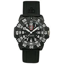 Luminox EVO Navy Seal Mens 3050 Colormark Series Dive Watch with Rubber Band