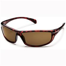 Suncloud King Polarized Optics, Tortoise Frame/Brown Lens
