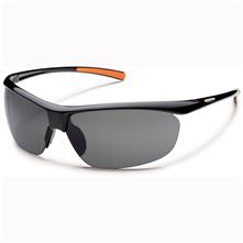 Suncloud Zephyr Polarized Optics, Black Frame/Gray Lens