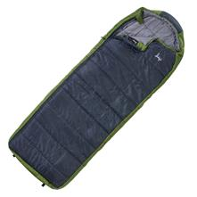 Slumberjack Esplanade 20F Synthetic Semi-Rectangular Hooded Sleeping Bag - Right Zipper