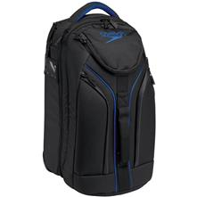 Speedo Small Wheelie Bag, Black/Blue