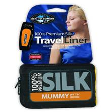 Sea To Summit Premium Silk Travel Liner - Traveler with Pillow Slip - Assorted Colors