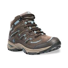 Timberland Ledge Leather with Gore-Tex Mid Hiking Shoes for Women - Dark Brown