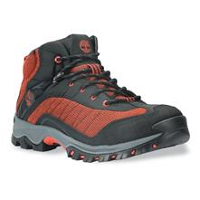 Timberland Piper Trail Leather and Fabric Waterproof Mid Hiking Shoes for Men