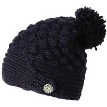 60004ac5375 FU-R Headwear Cinta Grande Knit Slouchy Pom Hat - Women