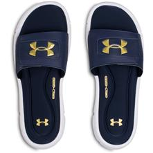 89980e1754 Under Armour UA Playmaker Fixed Strap Surf Slides for Men