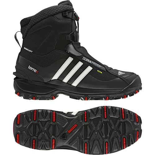 Adidas Terrex Conrax CP Hiking Shoes for Men 13M Black/Core Energy/Chalk