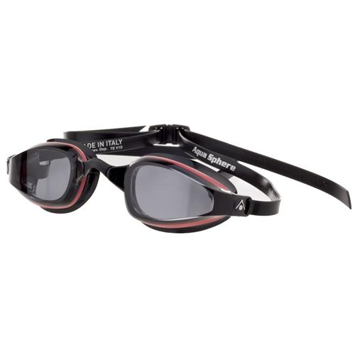 Aqua Sphere K180 Men's Swim Goggles, Smoke Lens