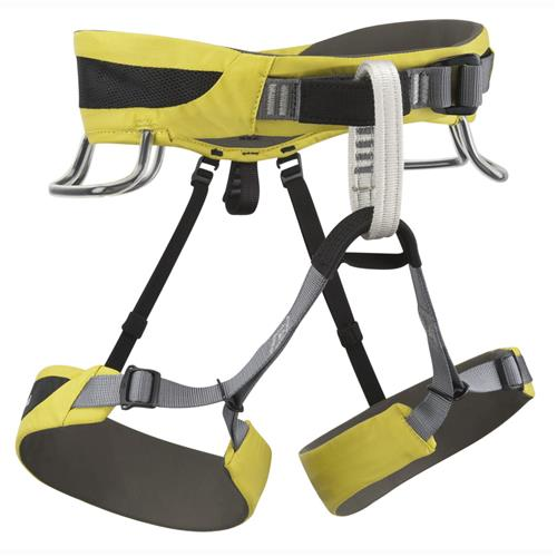 Black Diamond SA Climbing Harness Medium Sulfur