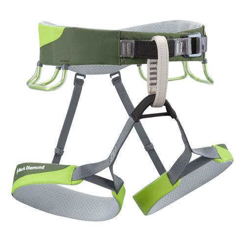 Black Diamond Ozone Climbing Harness for Men X-Lar